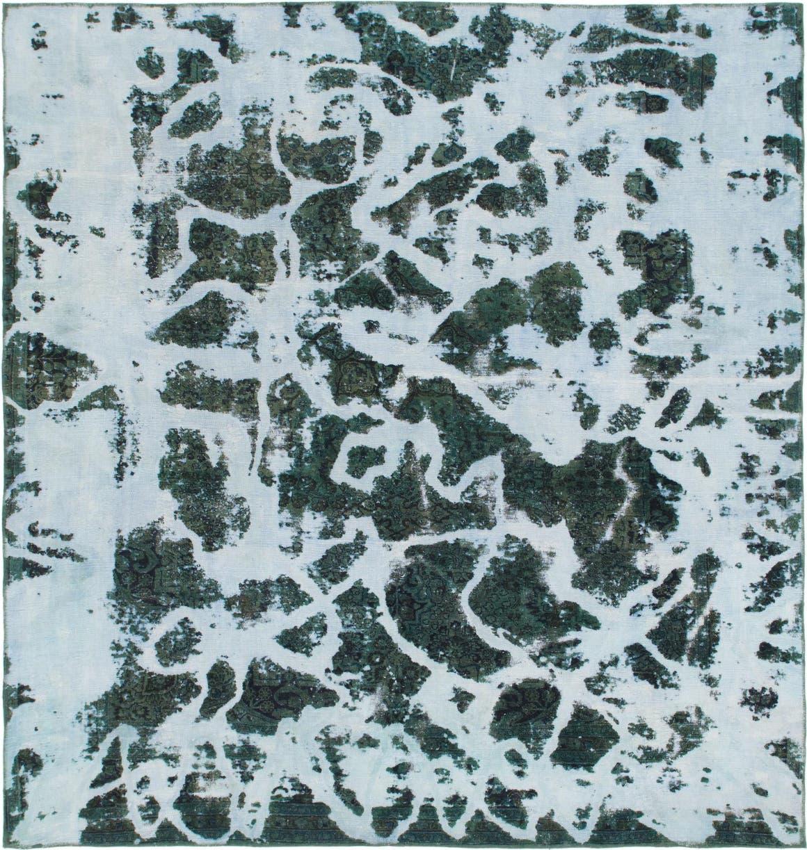 8' 10 x 9' 3 Ultra Vintage Persian Square Rug main image