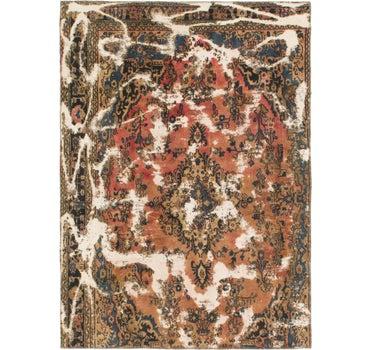 5' 10 x 8' Ultra Vintage Persian Rug main image