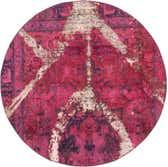 200cm x 200cm Ultra Vintage Persian Round Rug thumbnail