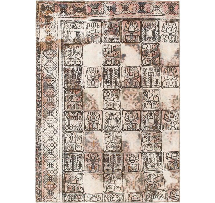 5' 2 x 7' 2 Ultra Vintage Persian Rug