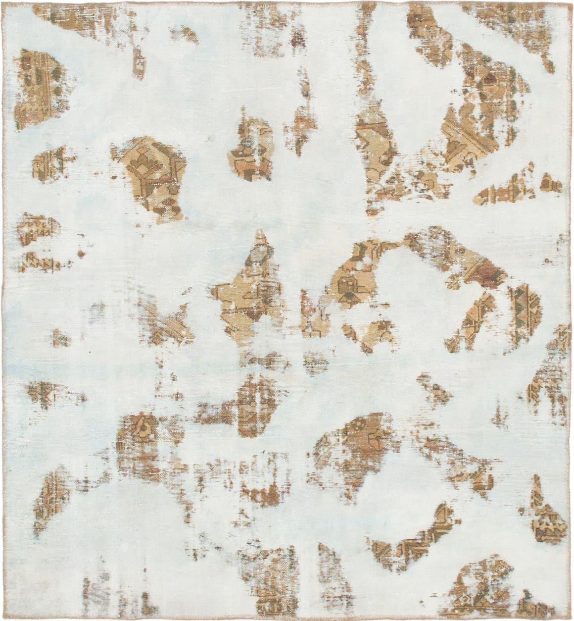 5' 9 x 6' Ultra Vintage Persian Square Rug main image