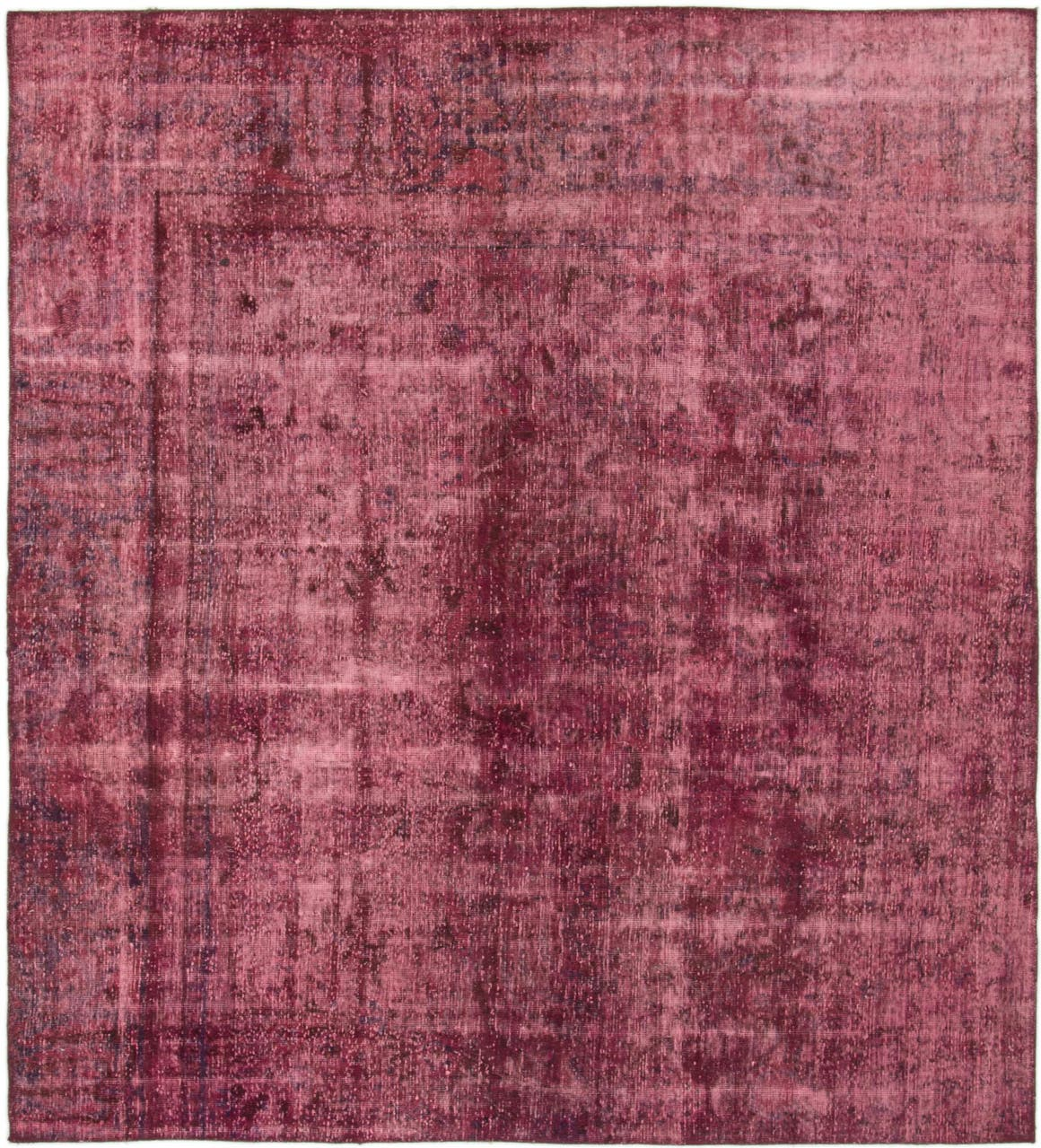 6' 6 x 7' 3 Ultra Vintage Persian Square Rug main image