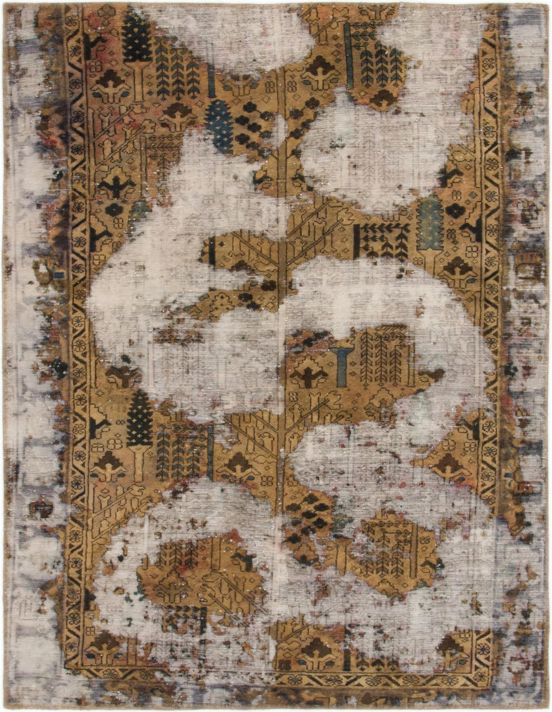 4' 10 x 6' 3 Ultra Vintage Persian Square Rug main image