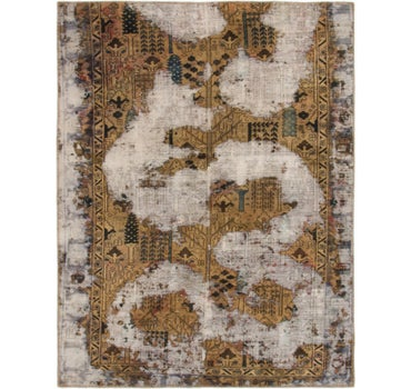 4' 10 x 6' 3 Ultra Vintage Persian Square Rug