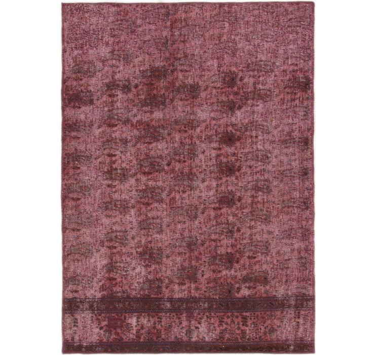 127cm x 178cm Ultra Vintage Persian Rug