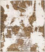 4' 4 x 5' Ultra Vintage Persian Square Rug thumbnail