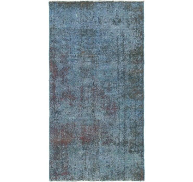 4' 2 x 7' 10 Ultra Vintage Persian Rug