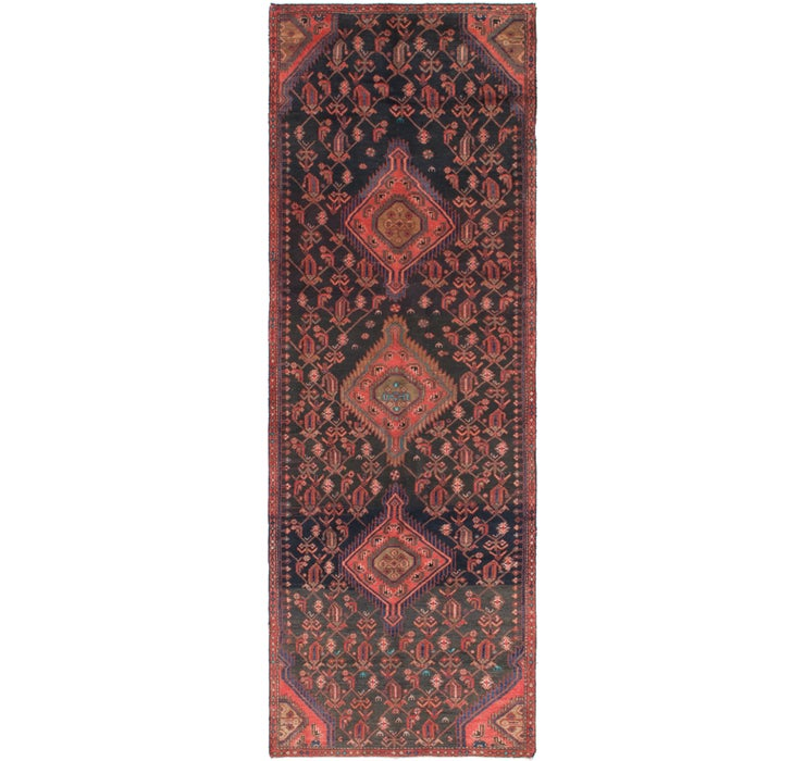3' 6 x 10' 5 Mazlaghan Persian Runne...