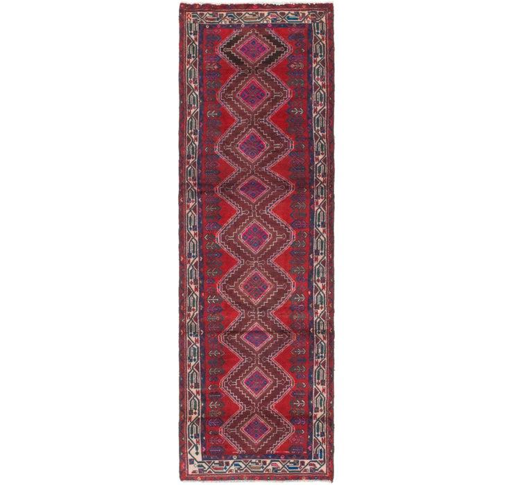 97cm x 323cm Chenar Persian Runner Rug