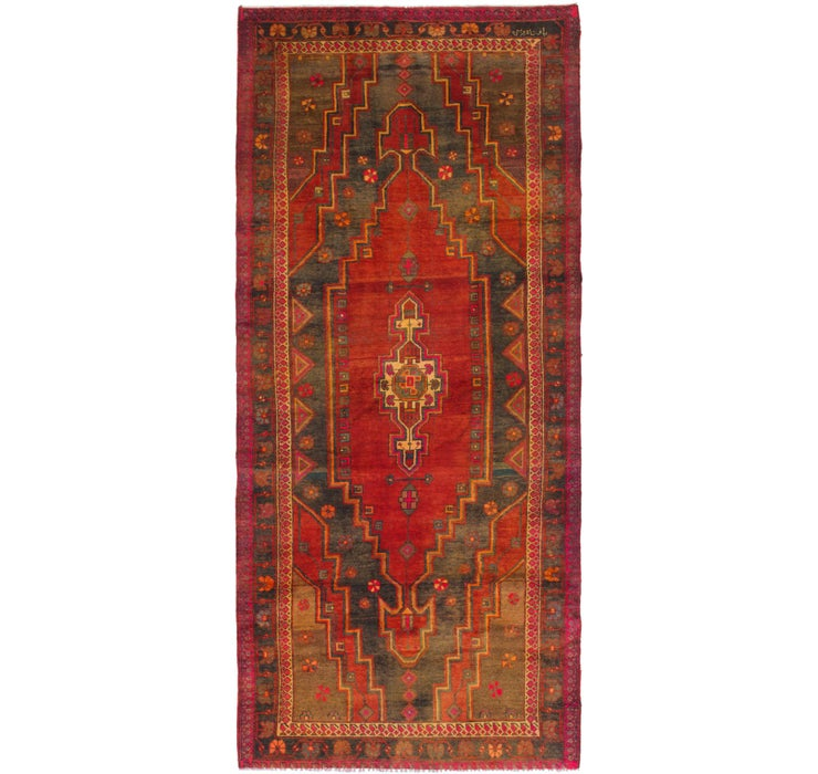 Image of 6' x 12' Sarab Persian Runner Rug