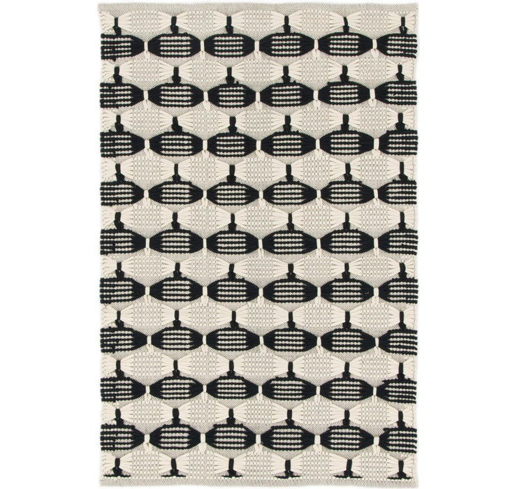 115cm x 175cm Braided Chindi Rug