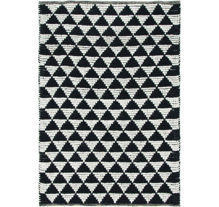 122cm x 175cm Braided Chindi Rug