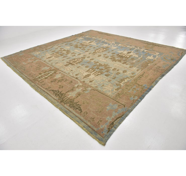 355cm x 370cm Oushak Square Rug