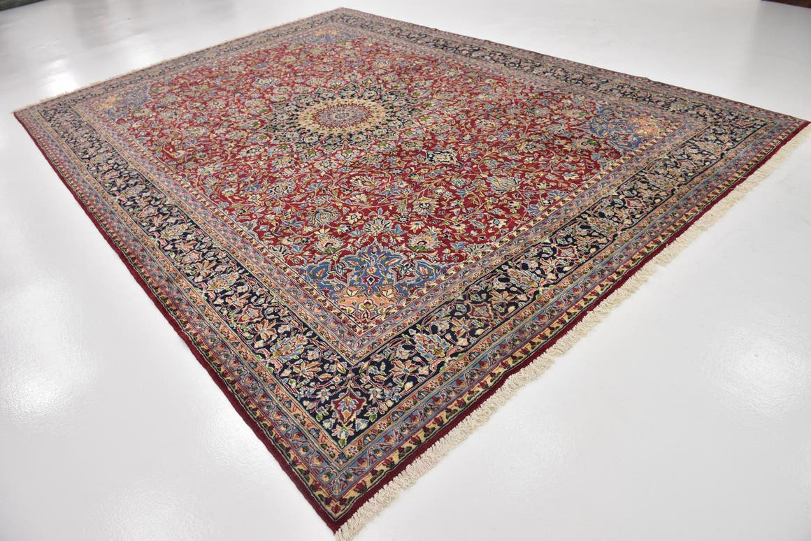 9' 6 x 13' 2 Kerman Persian Rug main image
