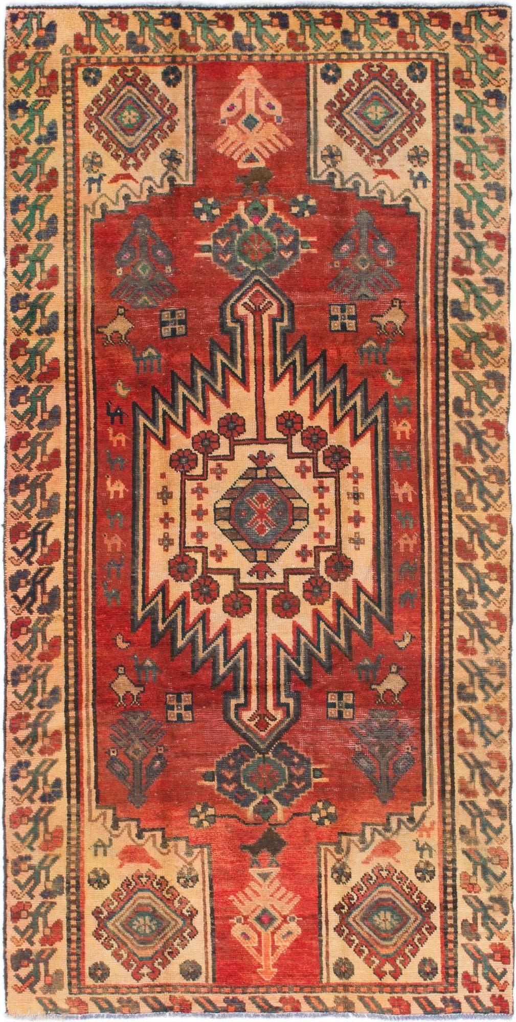 4' 9 x 9' 7 Bakhtiar Persian Runner Rug main image