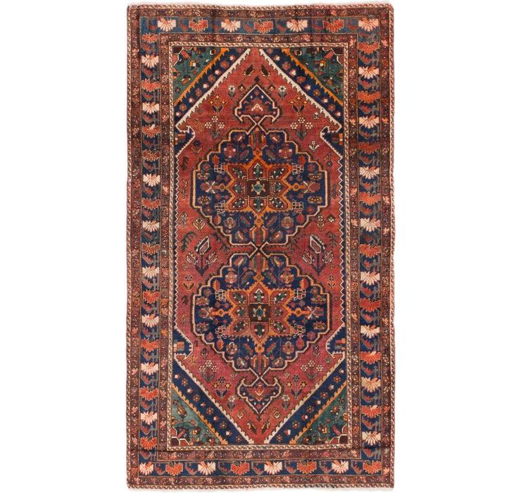 5' 3 x 9' 8 Shiraz Persian Runner Rug