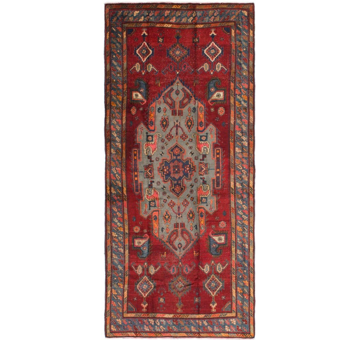 160cm x 355cm Shiraz Persian Runner Rug