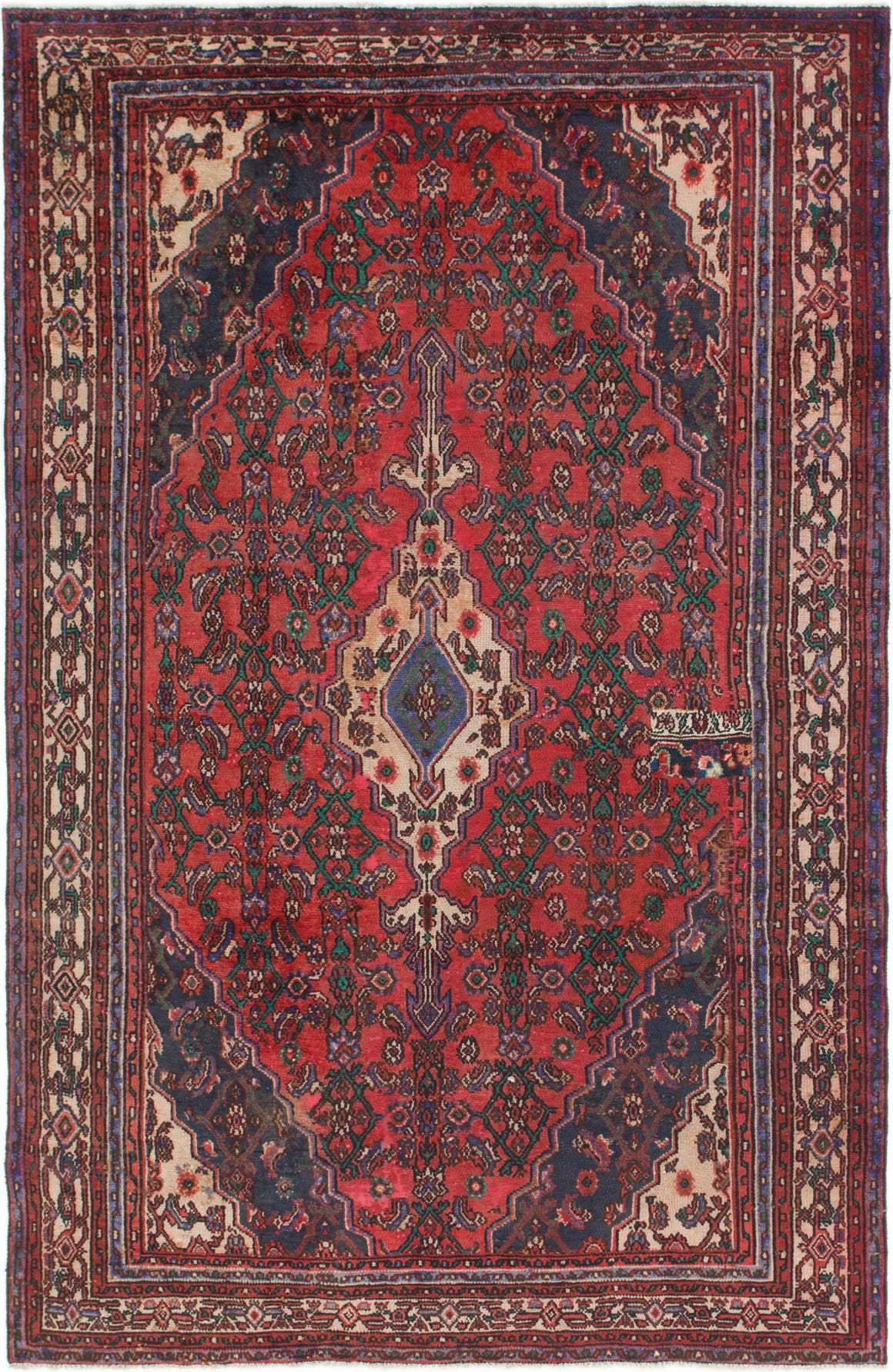 6' 6 x 10' Joshaghan Persian Rug main image