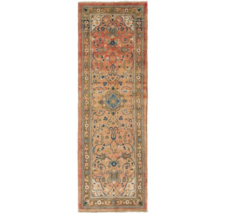 107cm x 318cm Mahal Persian Runner Rug