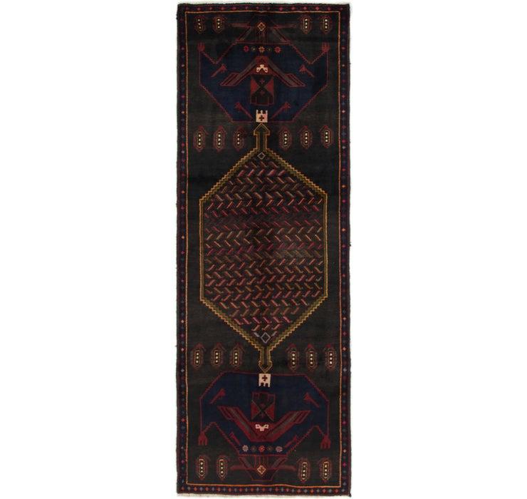 105cm x 305cm Zanjan Persian Runner Rug