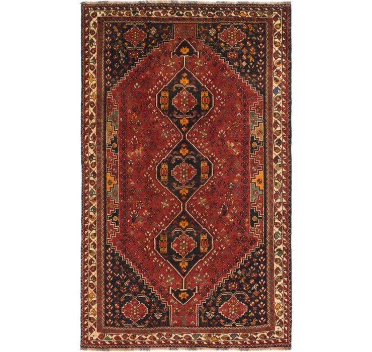 5' 9 x 9' 4 Shiraz Persian Rug