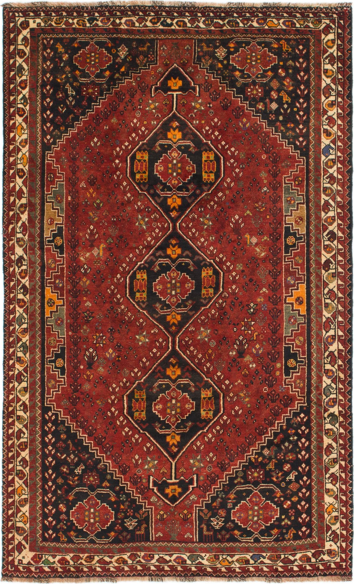 5' 9 x 9' 4 Shiraz Persian Rug main image