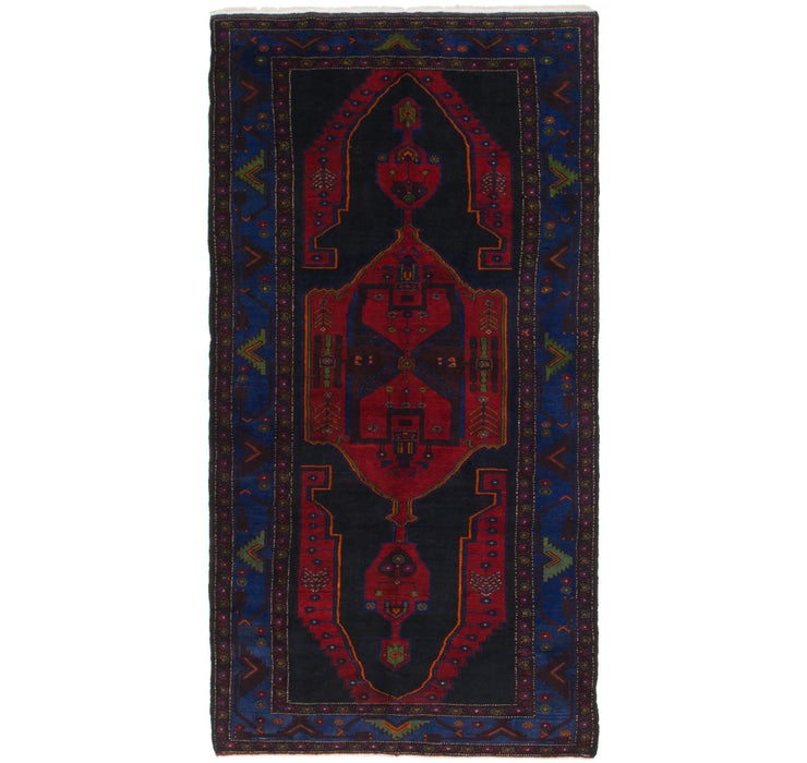 5' 5 x 11' Hamedan Persian Runner ...