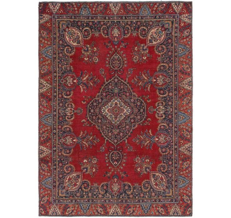 275cm x 385cm Tabriz Persian Rug