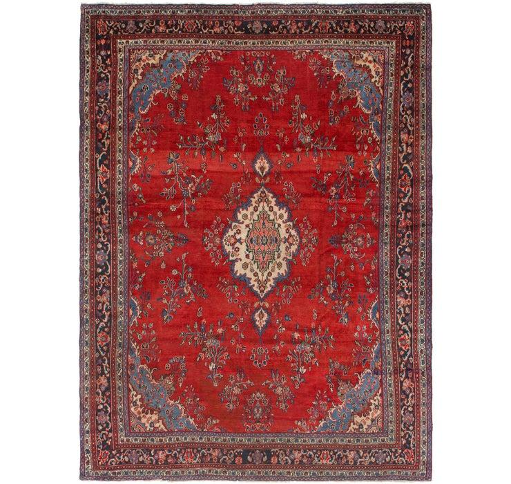 287cm x 385cm Hamedan Persian Rug