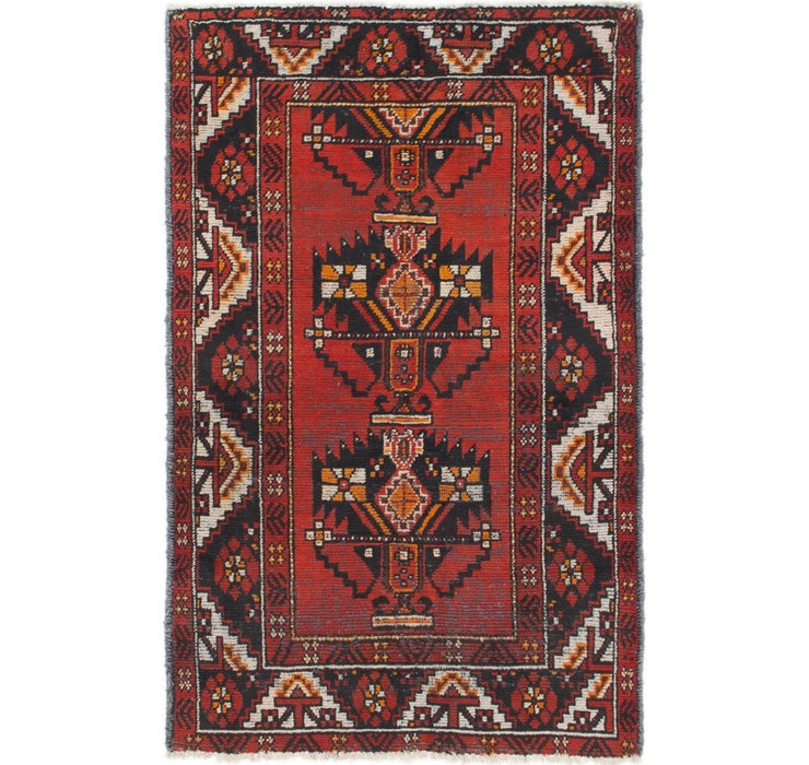 4' x 6' 2 Ferdos Persian Rug