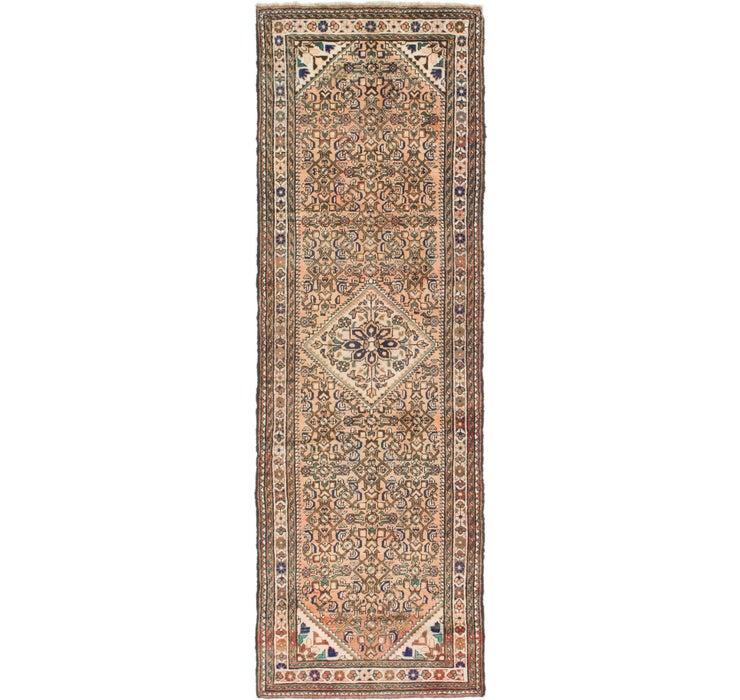 110cm x 335cm Hossainabad Persian Run...
