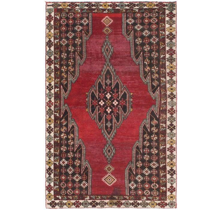 117cm x 193cm Mazlaghan Persian Rug