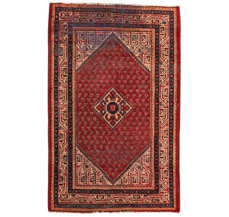 4' 3 x 6' 8 Botemir Persian Rug