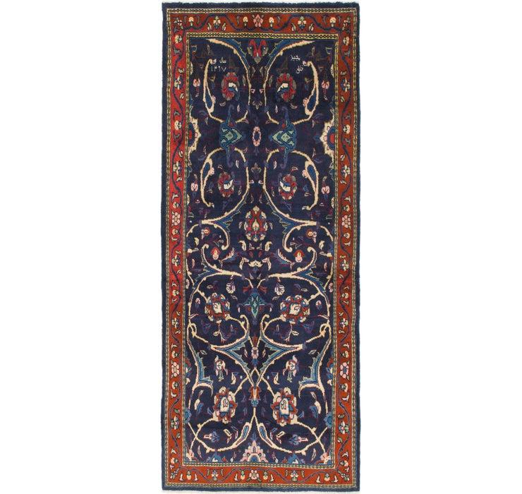 122cm x 315cm Mahal Persian Runner Rug