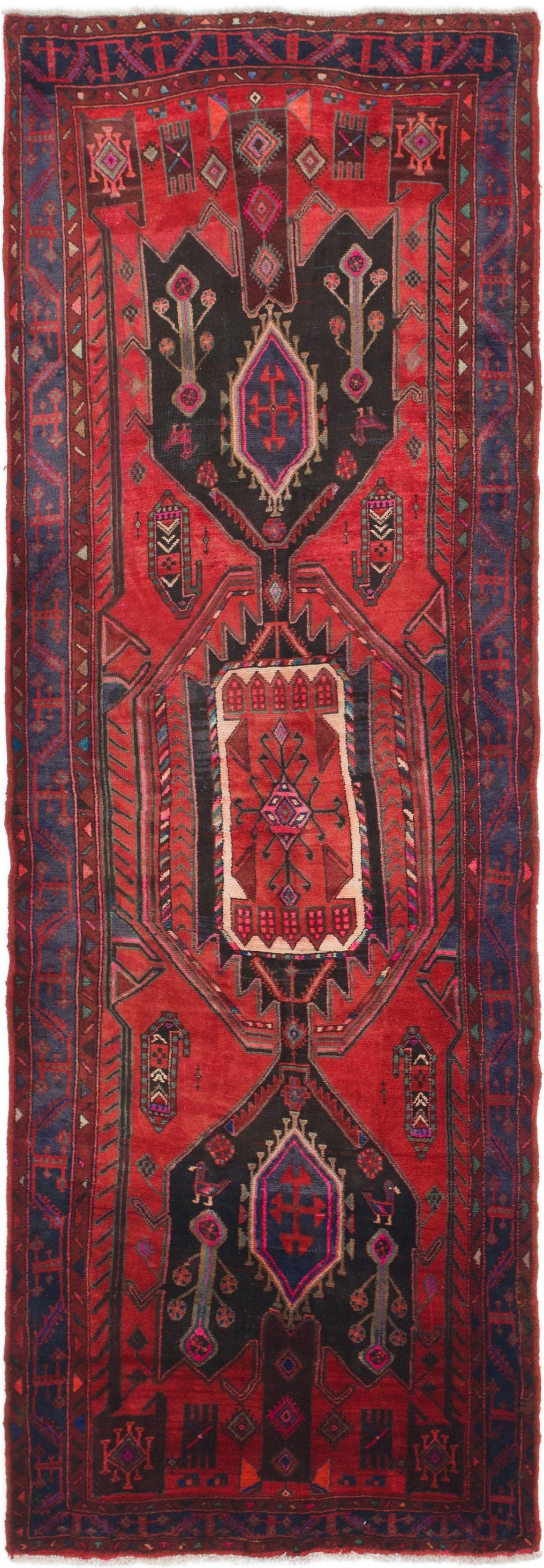 4' 2 x 11' 3 Meshkin Persian Runner Rug main image
