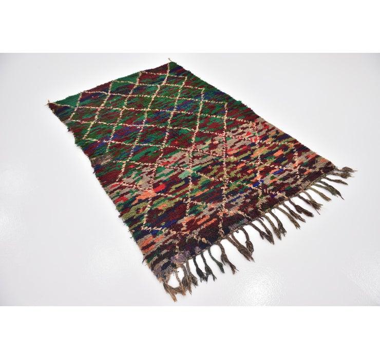 140cm x 203cm Moroccan Rug