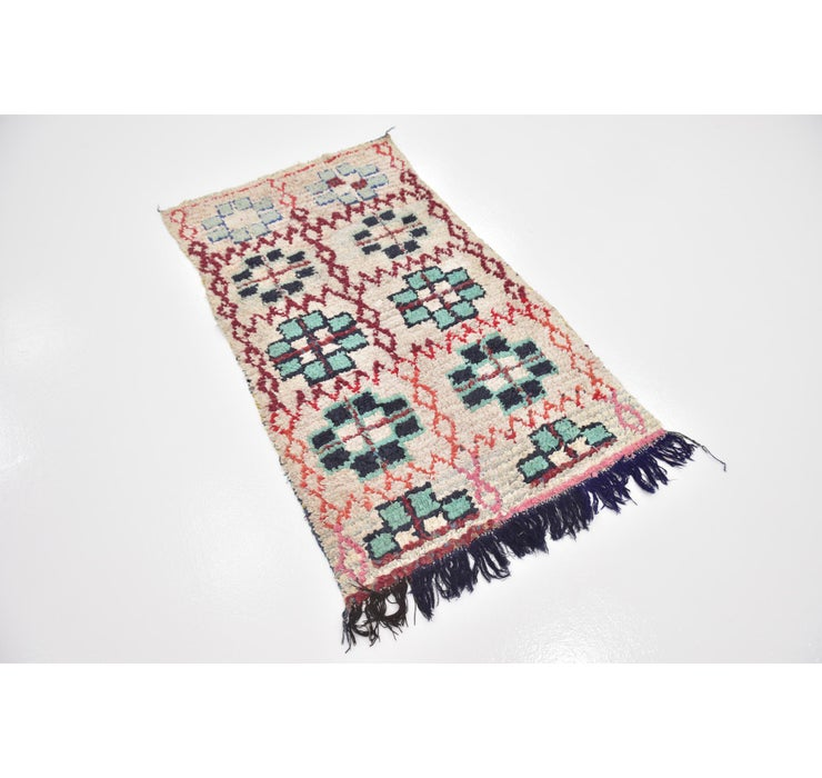 Image of 90cm x 152cm Moroccan Rug