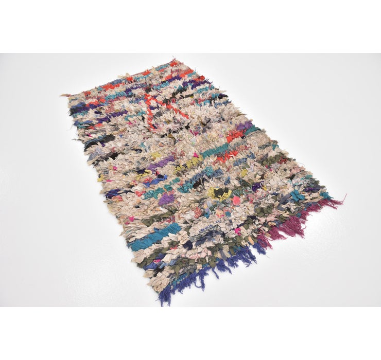 Image of 90cm x 145cm Moroccan Rug