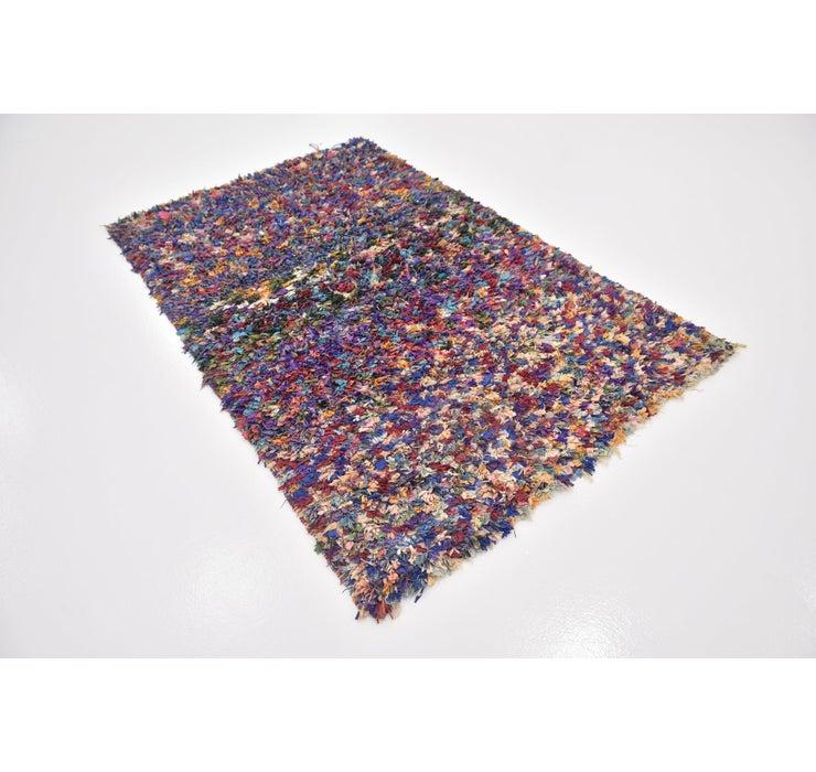 4' 2 x 6' 2 Moroccan Rug