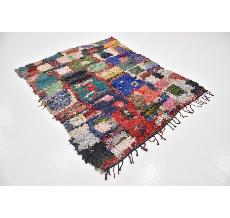 5' 7 x 7' 4 Moroccan Rug