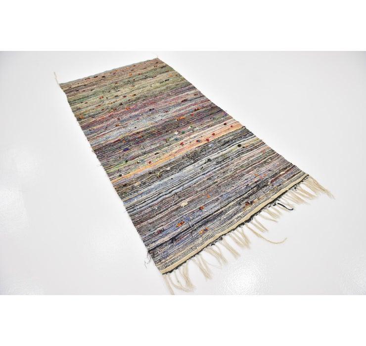 Image of 3' 9 x 7' 6 Moroccan Runner Rug