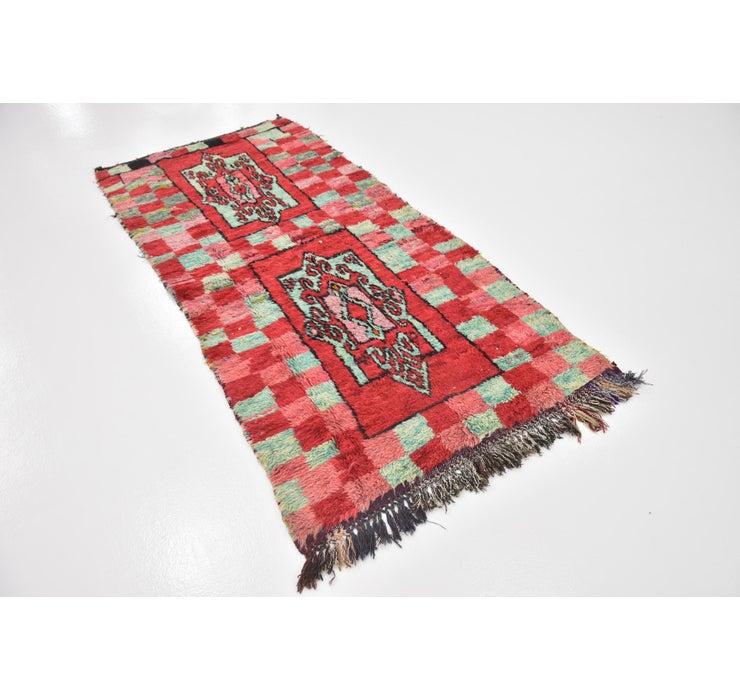 3' 6 x 7' 4 Moroccan Rug