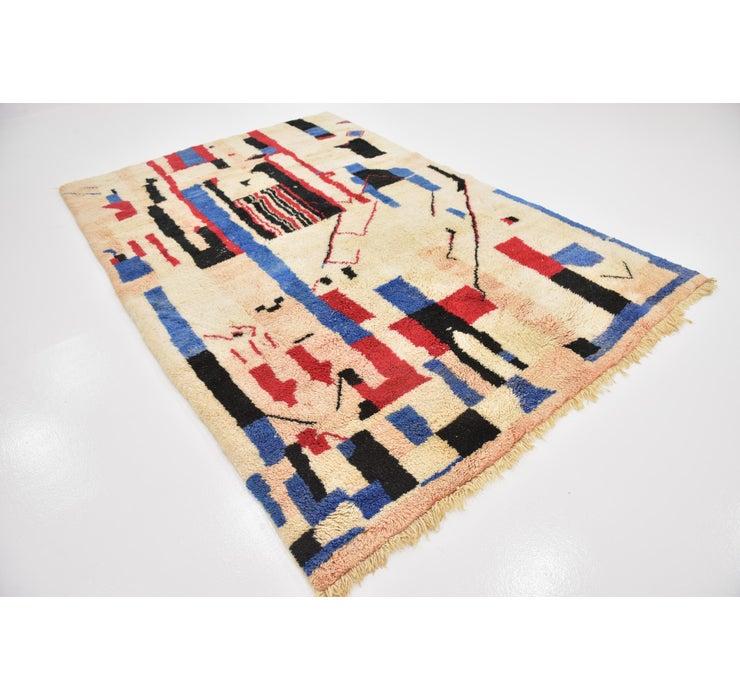 6' 9 x 10' 2 Moroccan Rug