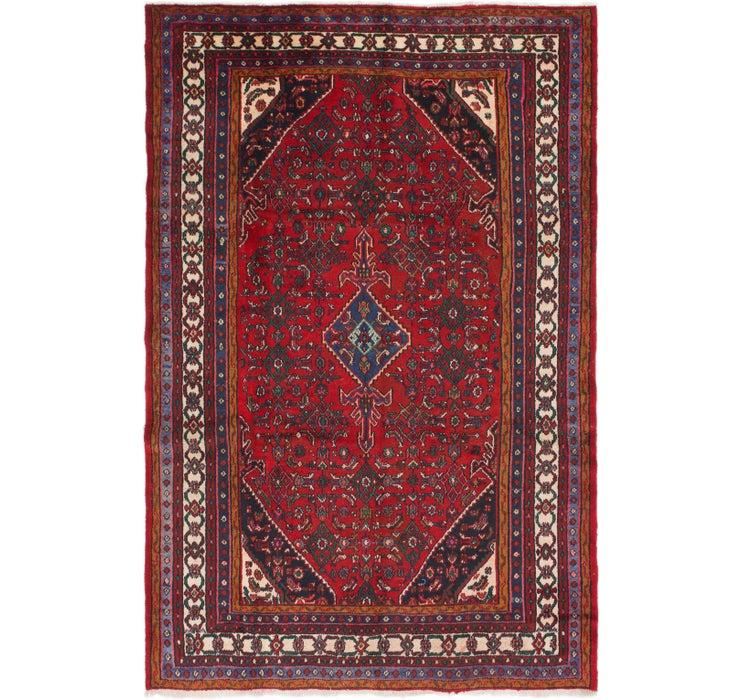 6' 10 x 10' 2 Hamedan Persian Rug