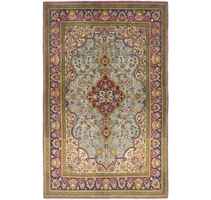 132cm x 208cm Qom Persian Rug