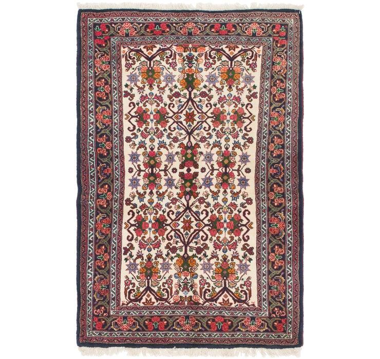 105cm x 163cm Bidjar Persian Rug