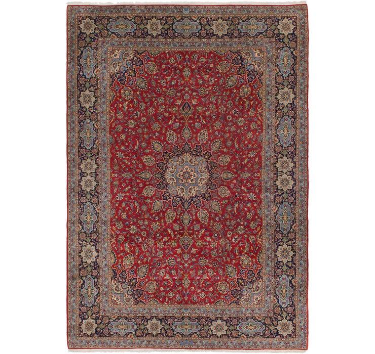 8' 6 x 12' 6 Kashan Persian Rug