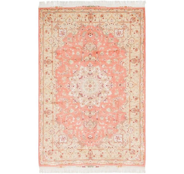 6' 8 x 10' 2 Tabriz Persian Rug