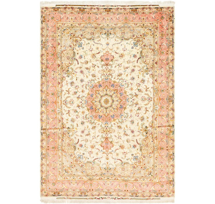 Image of 8' 2 x 12' Tabriz Persian Rug
