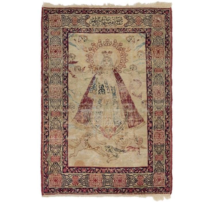 60cm x 90cm Kerman Persian Rug